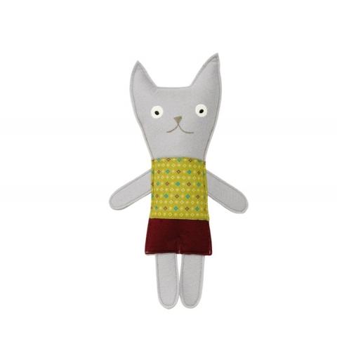 Señor gato gris