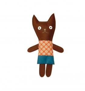 Señor gato marrón