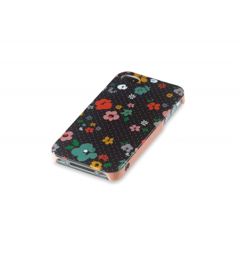 Funda Iphone 4/4S Flores oscuro