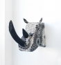 Cabeza rinoceronte cachemir