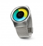 Reloj Ziiiro Celeste Chrome