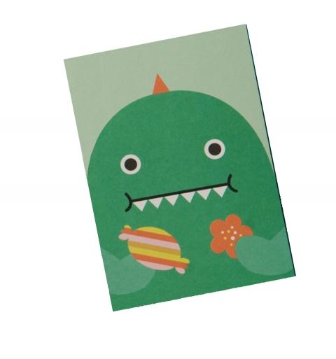 Cuaderno Dino glotón