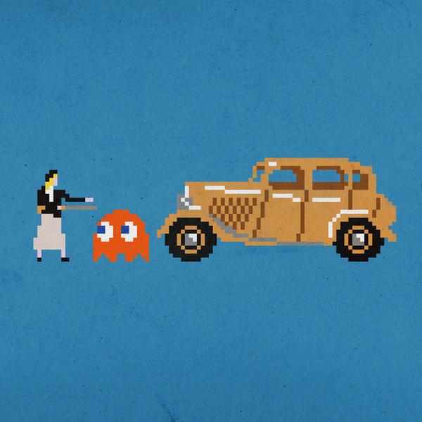 El pixel art de Aled Lewis