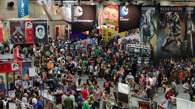 Asistentes de la  Comic con de San Diego 2013
