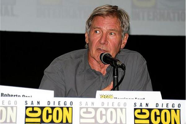 Harrison Ford en la  Comic con de San Diego 2013