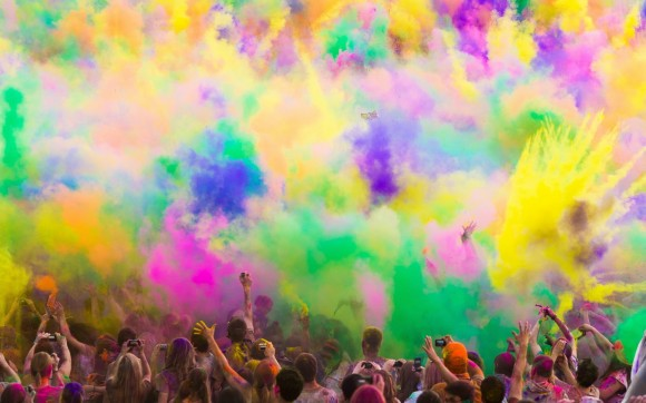 Holi, la fiesta del color