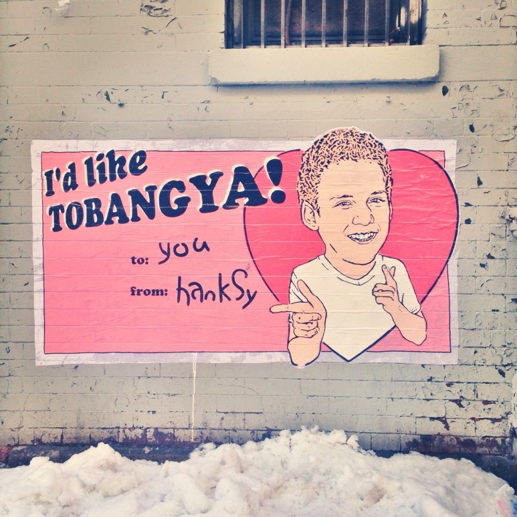 Hanksy arte urbano