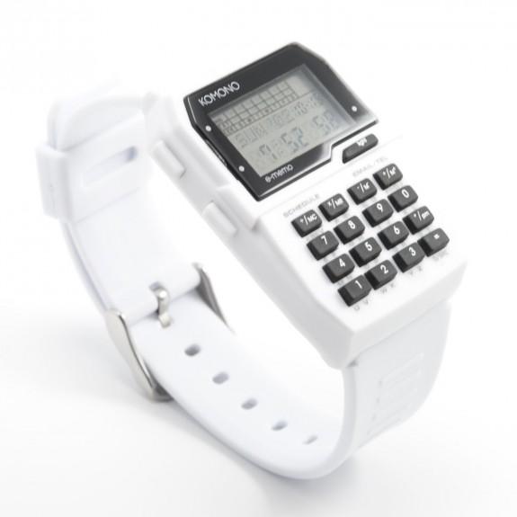 Reloj komono calculadora