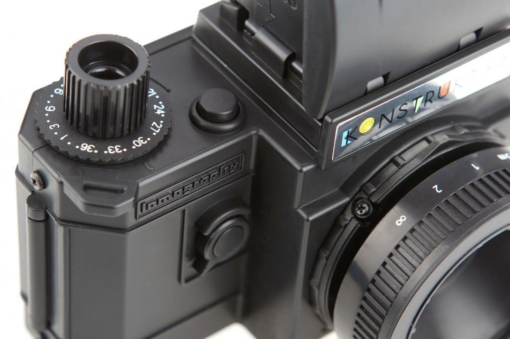 Konstructor, la primera cámara réflex do it yourself