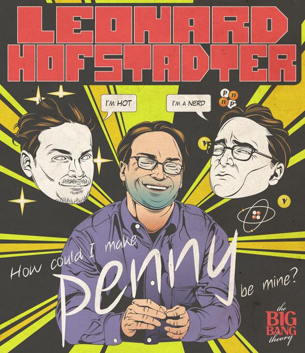 Leonard seduce a Penny Big bang theory