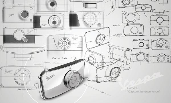 Vespa cámara