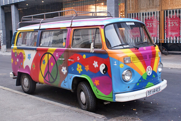 furgoneta hippie imagui