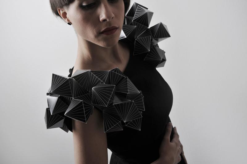 diseño de moda con papel