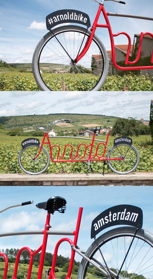 Arnold bike, publicidad en movimiento