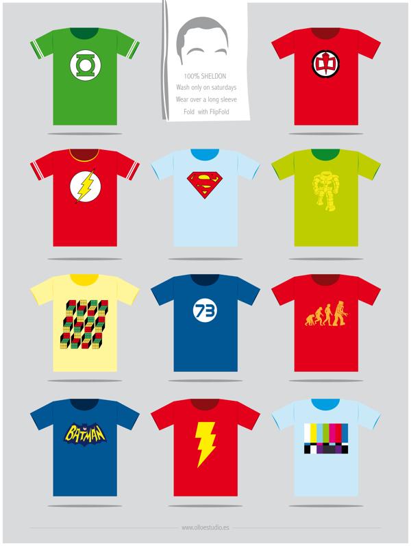camisetas de sheldon de big bang theory