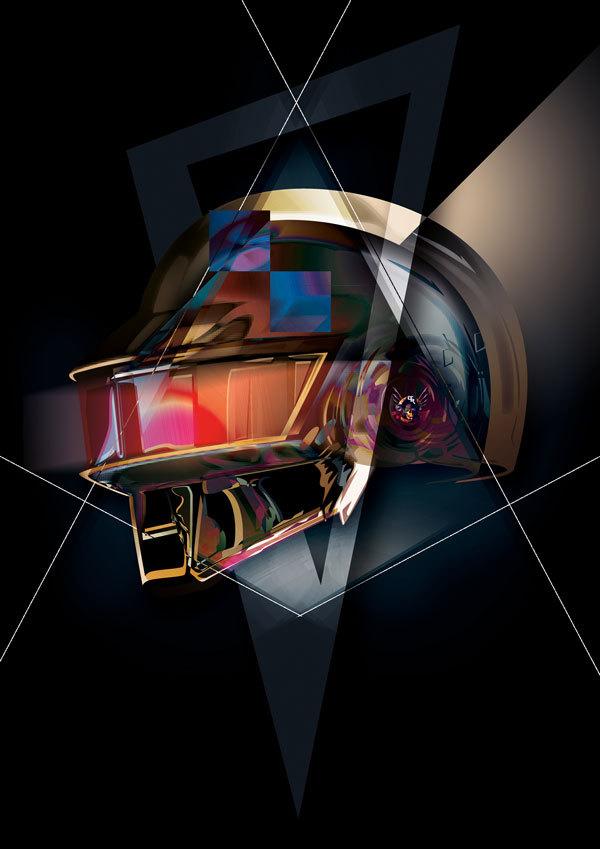 La estética de Daft Punk