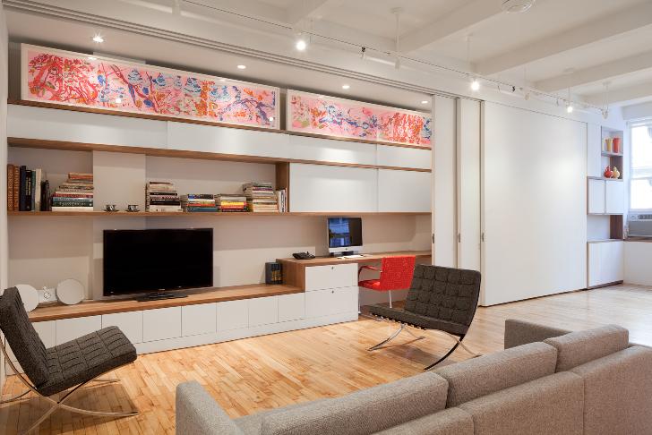 Interiorismo cool, el salón