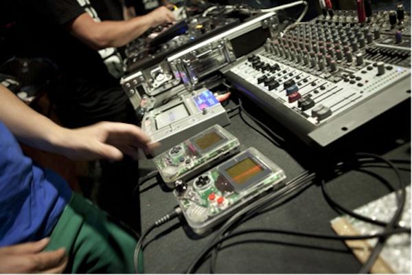 Musica con consolas retro