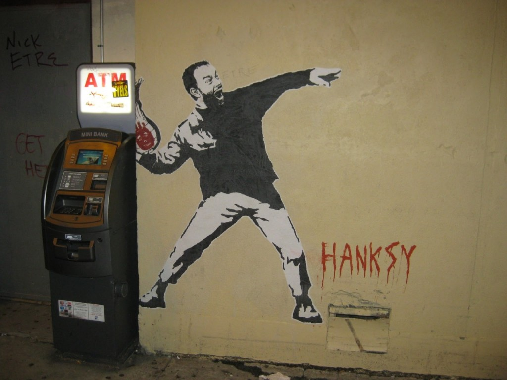 Hanksy arte callejero
