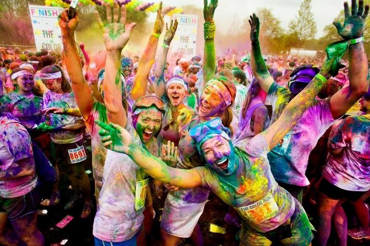 Holi, la fiesta del color