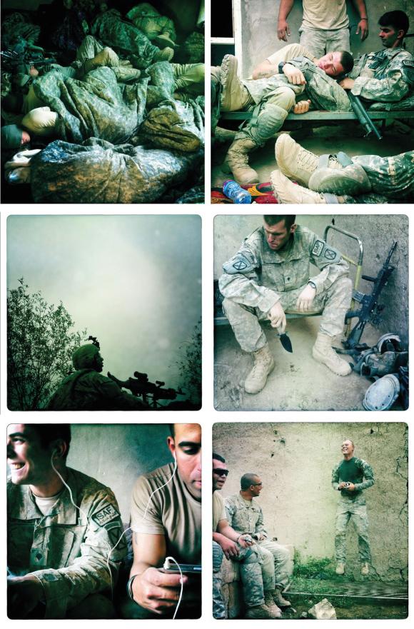 Reportaje de Damon Winter hecho con su Iphone en la guerra de Afganistán