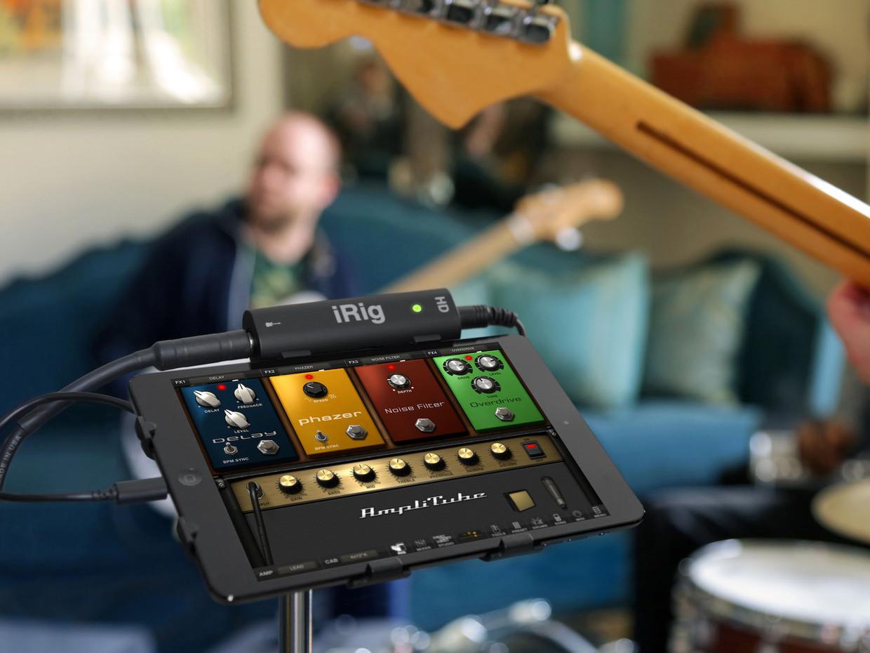 Conectar la guitarra al móvil