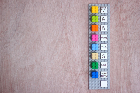 El calendario de Lego