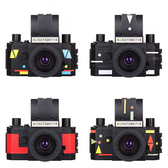 konstruktor cámara reflex DIY