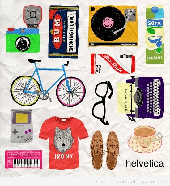 Moda Hipster. El kit de todo buen hipster