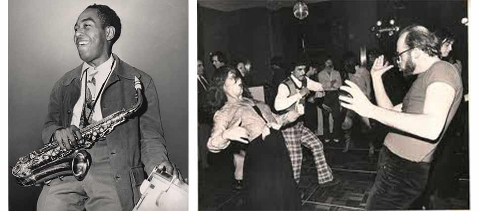 Moda hipster. Chalie Parker y alguno de los primeros hipsters.