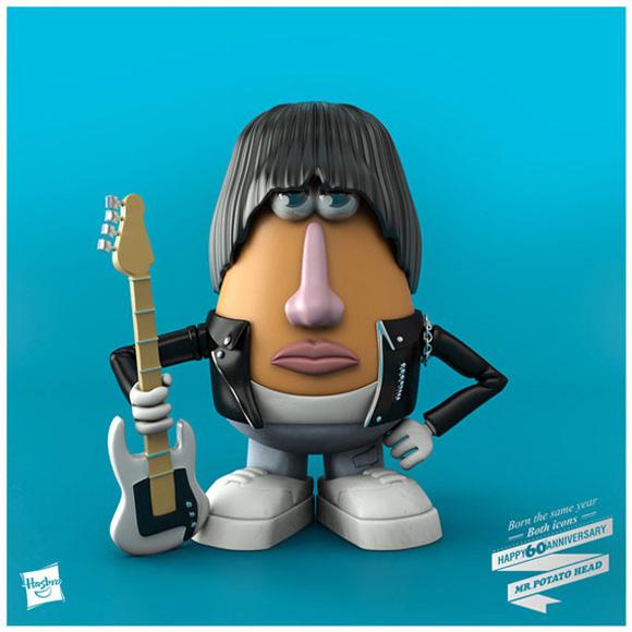 ilustraciones sesenta aniversario Mr. Potato