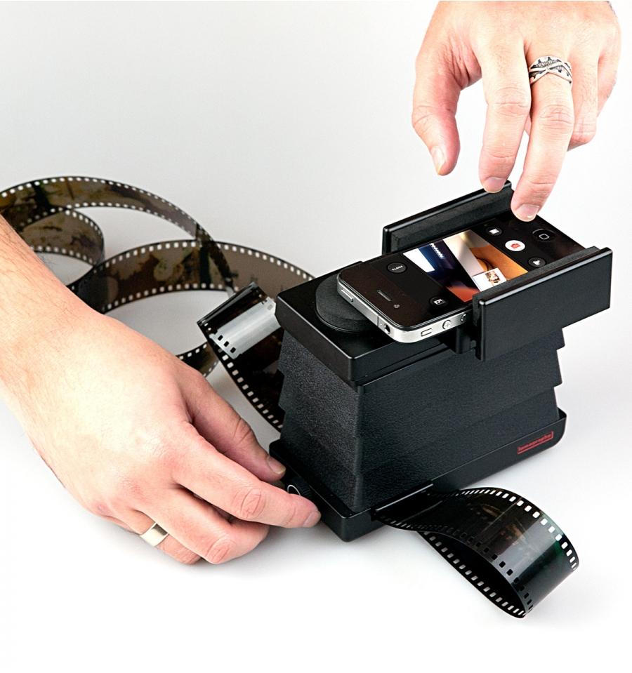 Scanner de negativos con Iphone. Los complementos del Iphone