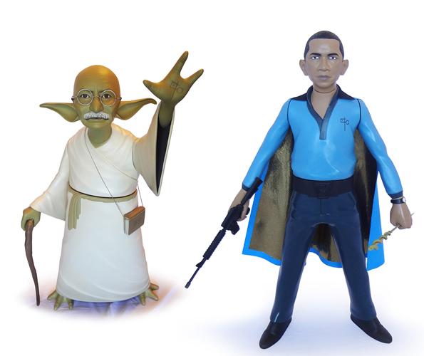 Star Wars famosos
