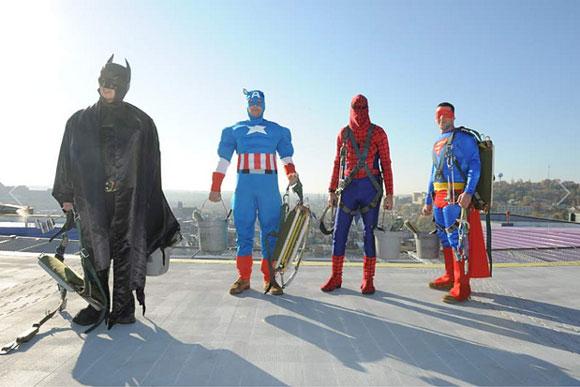 superhéroes que curan