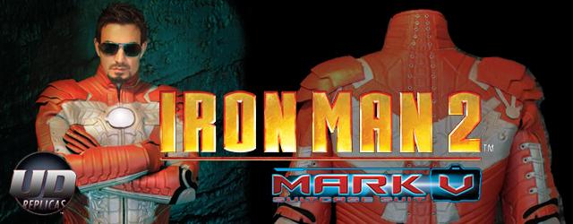 Traje de UDreplica de Iron man para moto