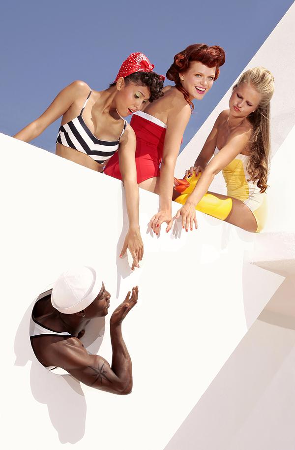 Imagen del reportaje Big girls de la joven fotógrafa portuguesa Ana Dias.