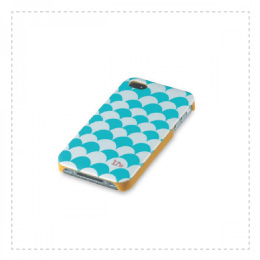 Funda cool para Iphone 4s, diseño olas