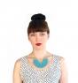 Collar de punto handmade