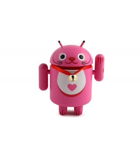 Gato de la suerte de android