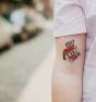 Amor de madre - Tatuaje temporal