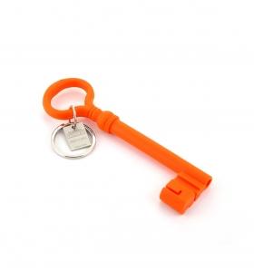 Llavero llave antigua