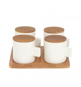 Set de café para cuatro