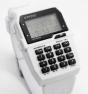 Reloj Komono calculadora blanco