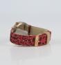 Reloj Komono leopardo rojo