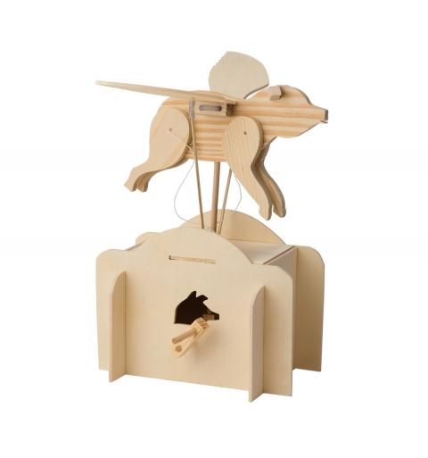 Autómatas DIY de madera