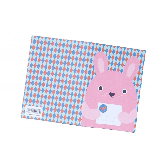 Cuaderno Conejito pink