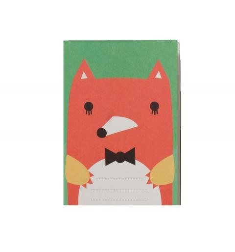 Cuaderno Zorrito elegante