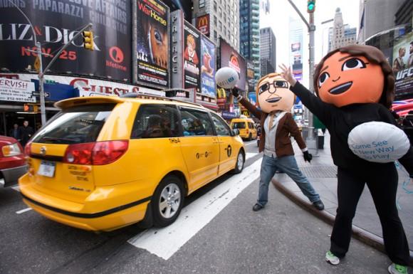 los mii invaden Nueva York
