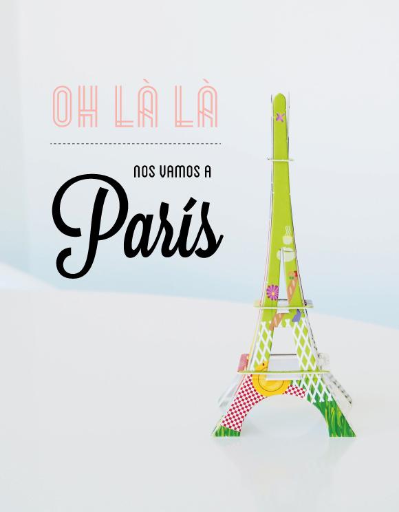 Nos vamos a París!